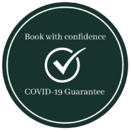 Book with confidence roundel 2